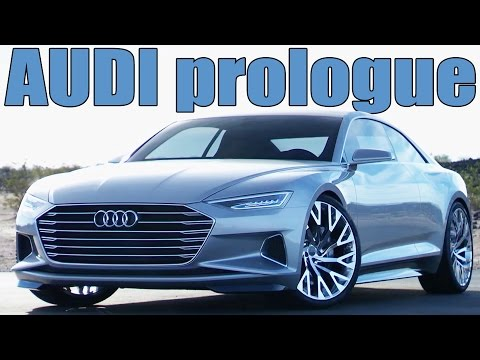 Future Audi A9 - The Audi prologue concept | DESIGN