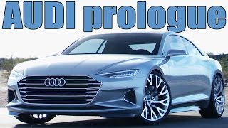 Future Audi A9 - The Audi prologue concept | DESIGN