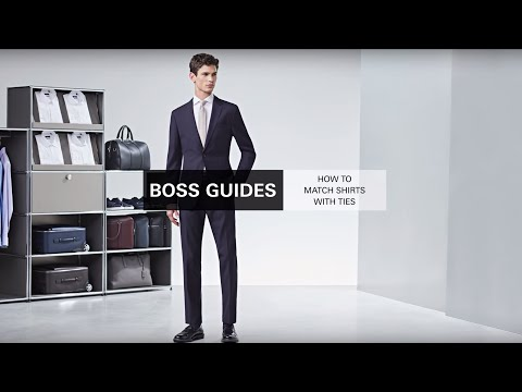 How To Match Shirts With Ties | BOSS