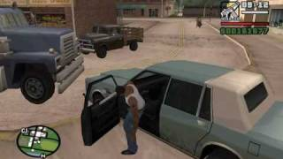 Starter Save - Part 22 - GTA San Andreas PC - complete walkthrough (showing all details) - achieving 13.37% Game Progress before doing the story missions - no cheats and no modific ...