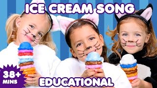 Ice Cream Song | Silly Ice Cream | Kids Songs | Nursery Rhymes
