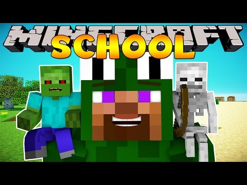 Minecraft School : ARTS & CRAFTS - BATTLE DOLLS!