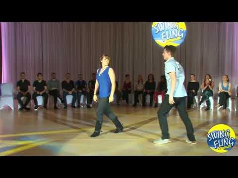Swing Fling 2017 AllStar Jack & Jill Finals Ryan Boz & Lia Brown