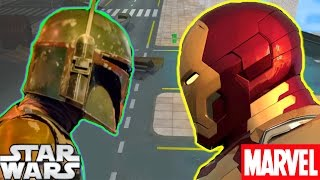 Boba Fett Vs Iron Man CONCEPT TEASER - Star Wars Theory CGI Animation