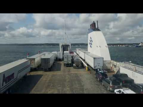 Marine Atlantic ferry trip from Nova Scotia to Newfoundland (Aug. 27, 2017)