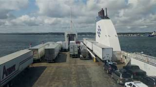 Marine Atlantic ferry trip from Nova Scotia to Newfoundland