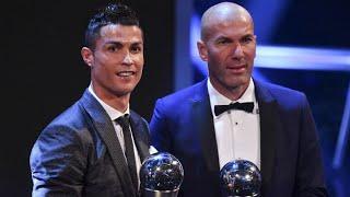 Prix Fifa : Ronaldo meilleur joueur, Zidane meilleur entraîneur