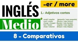 """Comparativos en inglés: Reglas de adjetivos y oraciones """"Yes en Inglés 2"""" [Video 8]"""