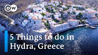 5 Things to do on the Island of Hydra, Greece