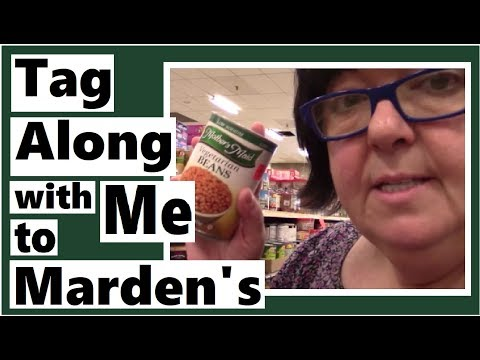 Tag Along with Me to Marden's