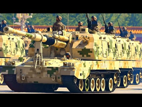 TOP 5 BEST SELF-PROPELLED HOWITZERS In The World.