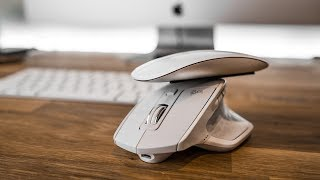 Apple Magic Mouse 2 vs MX Master 2s FOR PHOTO/VIDEO 2018