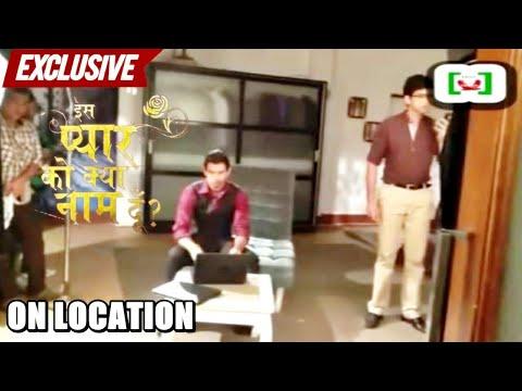 Behind The Scene Shots - Iss Pyaar Ko Kya Naam Doon?