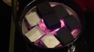 Vulkanos, Elektrisk kolplatta - Tänd naturkol för vattenpipa snabbt och enkelt!