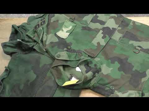 Куртки полевые М93. Сербия.