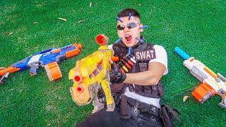 LTT Game Nerf War : Warriors SEAL X Nerf Guns Fight Crime Braum Crazy Insider Betrayal