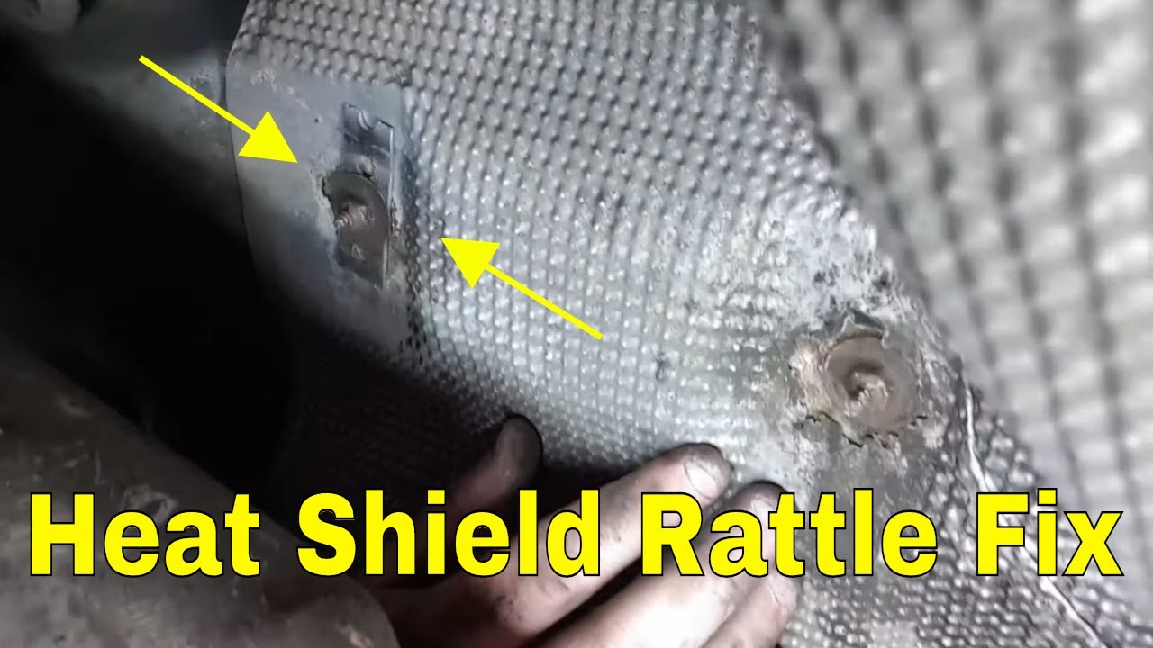 Car Heat Shield Quick Fix Youtube