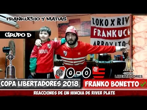 River 0  Flamengo 0 | Reacciones de un Hincha de River | Copa Libertadores 2018