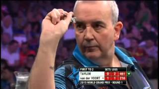 2015 World Grand Prix Round 1 Taylor vs van der Voort  pt 2