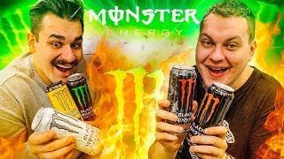 ВСЕ ВИДЫ ЭНЕРГЕТИКА МОНСТР (Black Monster)