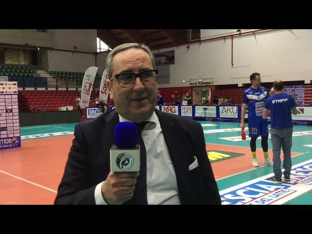 Dichiarazioni coach Di Pinto post Brescia-Prisma Taranto gara-2 finale playoff