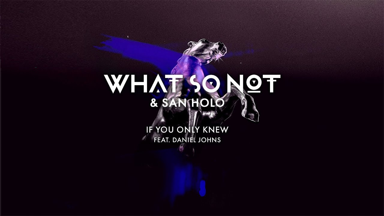 Download What So Not & San Holo - If You Only Knew (feat. Daniel Johns) [Official Audio]