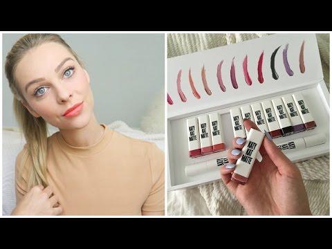 Summer Makeup ft. Katy Perry Matte Lipsticks