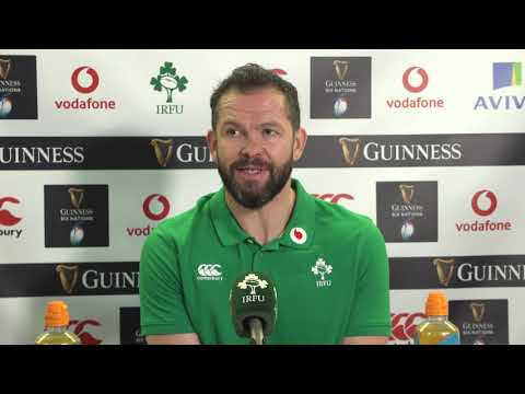 Ireland 13-15 France - Andy Farrell - Post-Match Press Conference