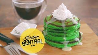 Pandan Pancakes | New Filipino Cooking Channel | Kusina Sentral