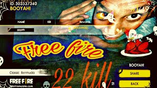 🔥 Free Fire🔥New record of game 🔥 22 kill by one man Army 🔥 comedy game play 🔥