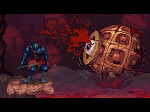 Primal Light - Fight Monsters In A Strange Fleshy World In This SNES-era Inspired Action Platformer