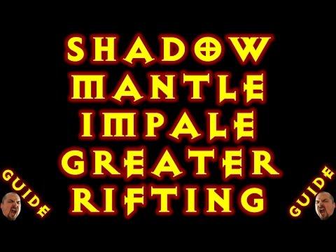 Diablo 3 DH Impale Shadow Mantle Solo GR Build 2.5.0