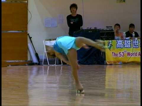Noemi Coronel.LP.Senior Femenino. Mundial 2008. HIGH QUALITY