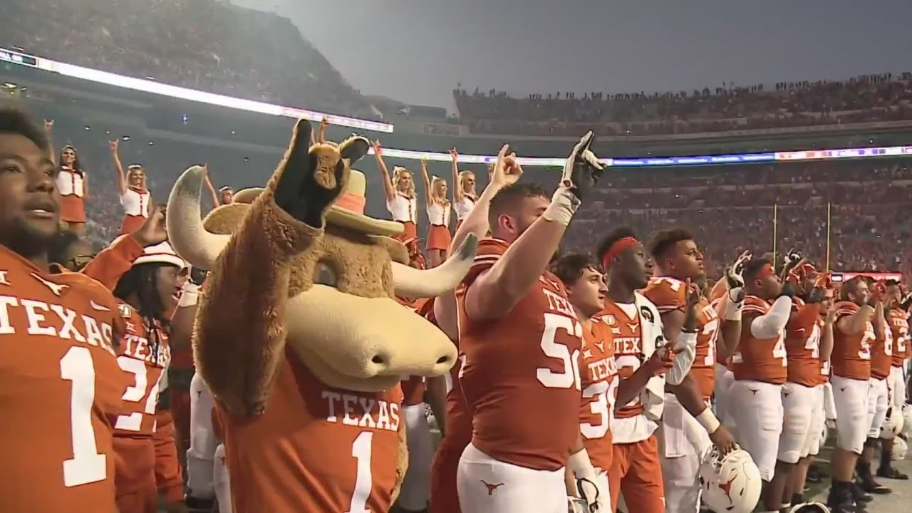 Longhorn athletes call for school to eliminate 'Eyes of Texas' song ...