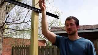 How To Build A Simple Garden Trellis