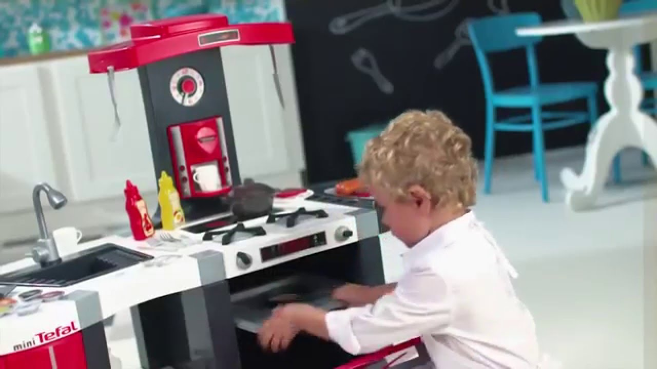 tefal french touch bubble küche - smoby - youtube - Smoby Tefal Studio Küche