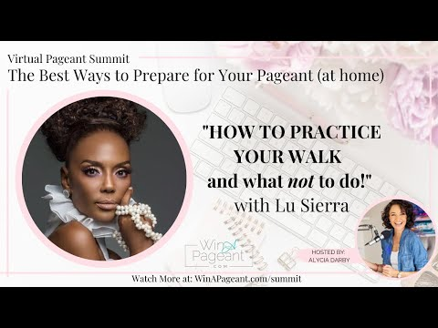 How to Practice Your Walk at Home with Miss Universe Runway Coach Lu Sierra (157)