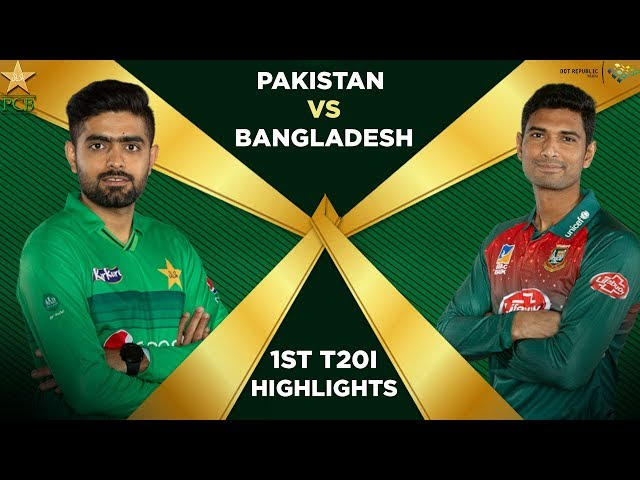 Pakistan vs Bangladesh 2020 | Full Highlights | 1st T20I | PCB