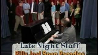 Late Night Staff Billy Joel Song Parodies 4/27/04