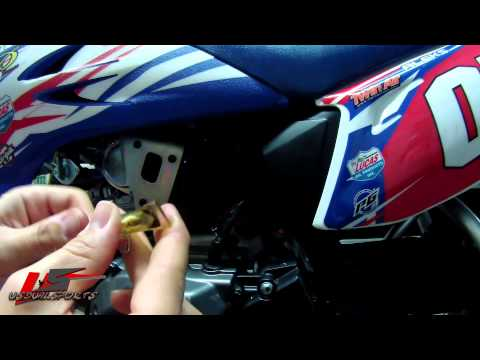 "Removing TTR-50 Air Filter ""www.usdualsports.com"""