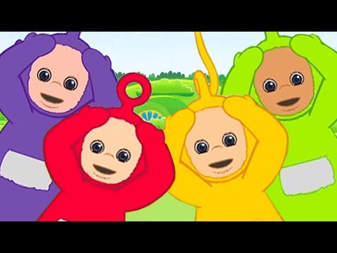 Head Shoulders Knees And Toes | Teletubbies | Learn Nursery Rhymes For Kids | Song For Children