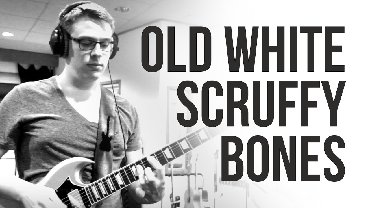 old white scruffy bones