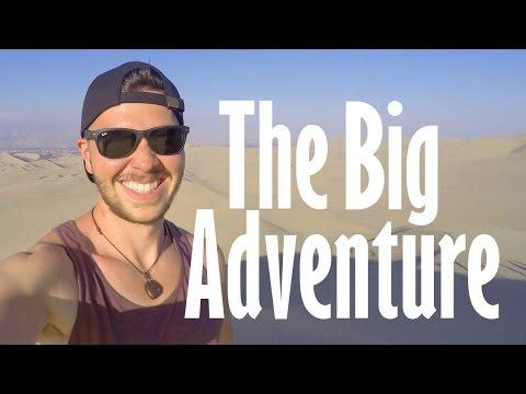 The Big Adventure Across South America - Rio De Janeiro to Lima. 1080p HD.