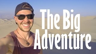 The Big Adventure Across South America - Rio De Janeiro to Lima. 1080p HD.