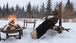 Camp Chair and Table - 12 Week Bushcraft Challenge - Week 6