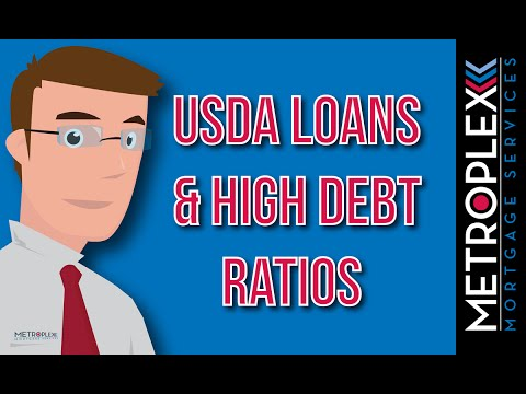 Are Your Debt Ratios Too High for a USDA Loan?