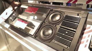 Pioneer TS-WX70DA powered sub | CES 2017 | Crutchfield video