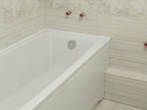 Ванна видеоКак установить ванну?  С гарантией.