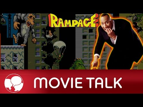 AMC Movie Talk - The Rock To Star In Live Action RAMPAGE Movie, Legendary Pictures At Comic Con