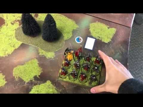 Lannisters vs House Stark; A Song of Ice and Fire; Game of Thrones Tabletop Game Battle Report
